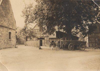 Foto vom Hof früher Klosterstraße