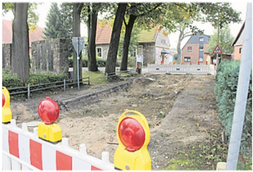 Bauarbeiten ruhen weiterhin