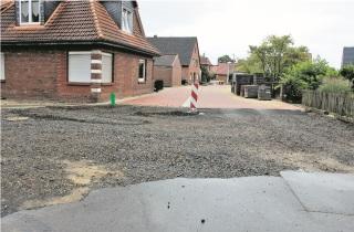 Klosterstraße: Stadt hat  der Baufirma gekündigt